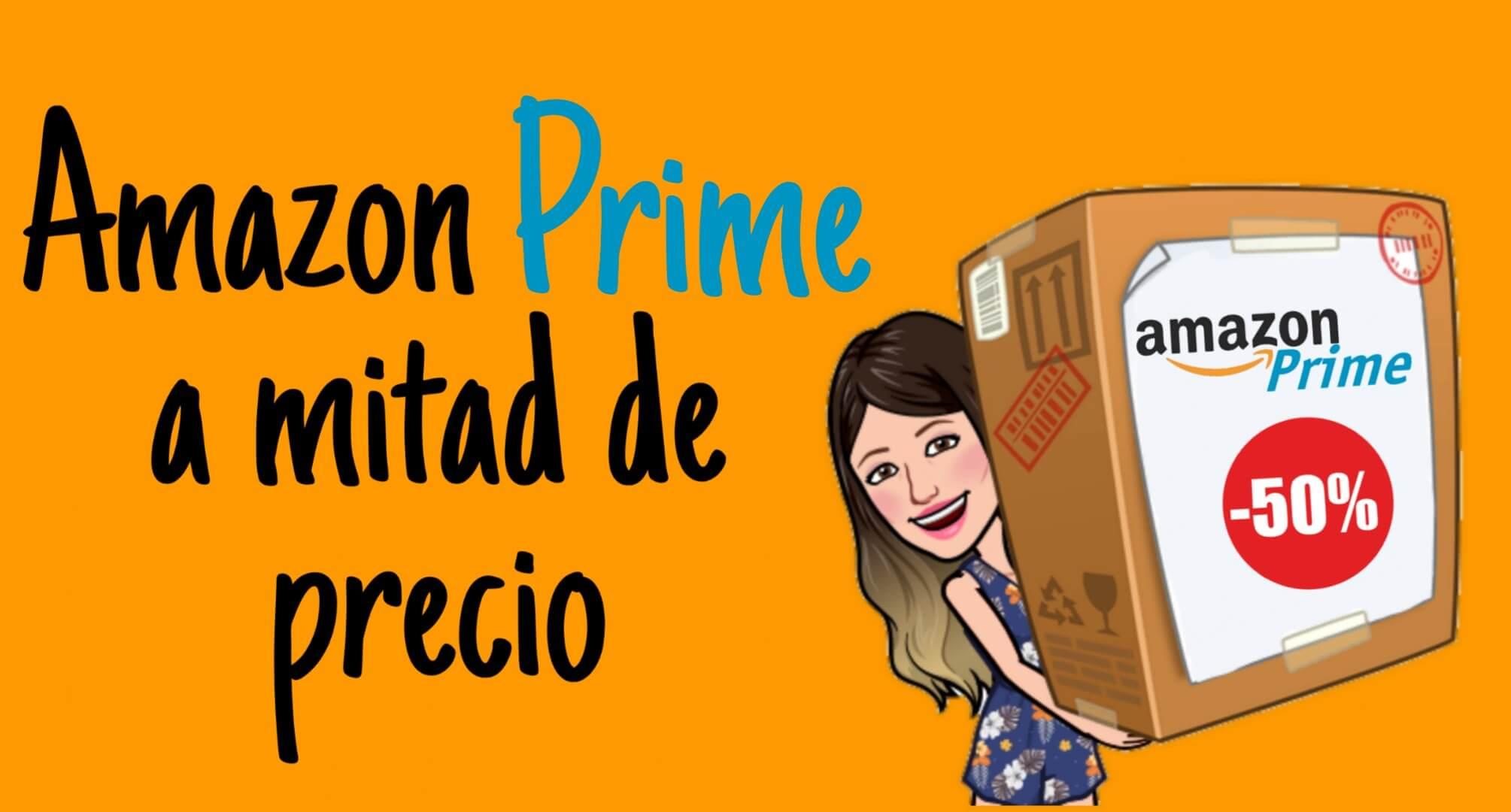 Obtener Amazon Prime a mitad de precio en Estados Unidos