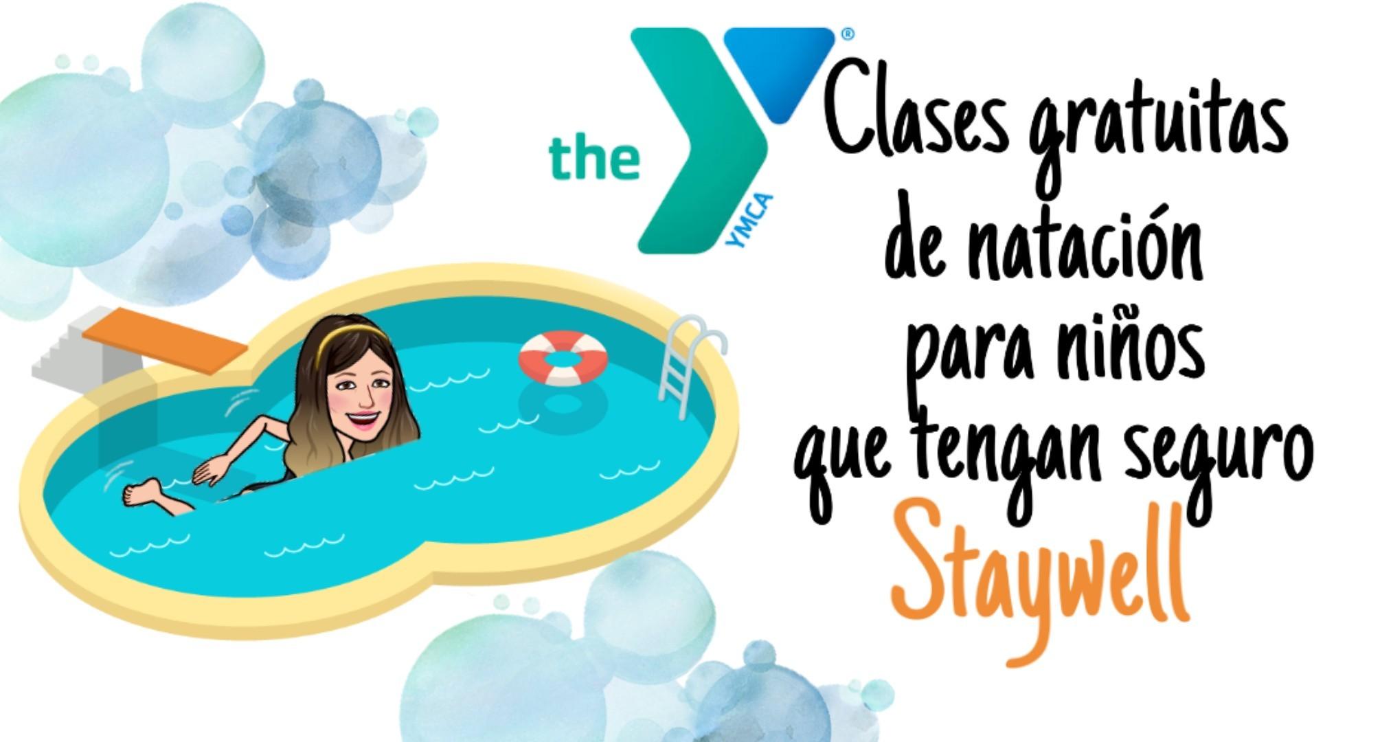 Clases de natación gratis para niños con Staywell en Estados Unidos
