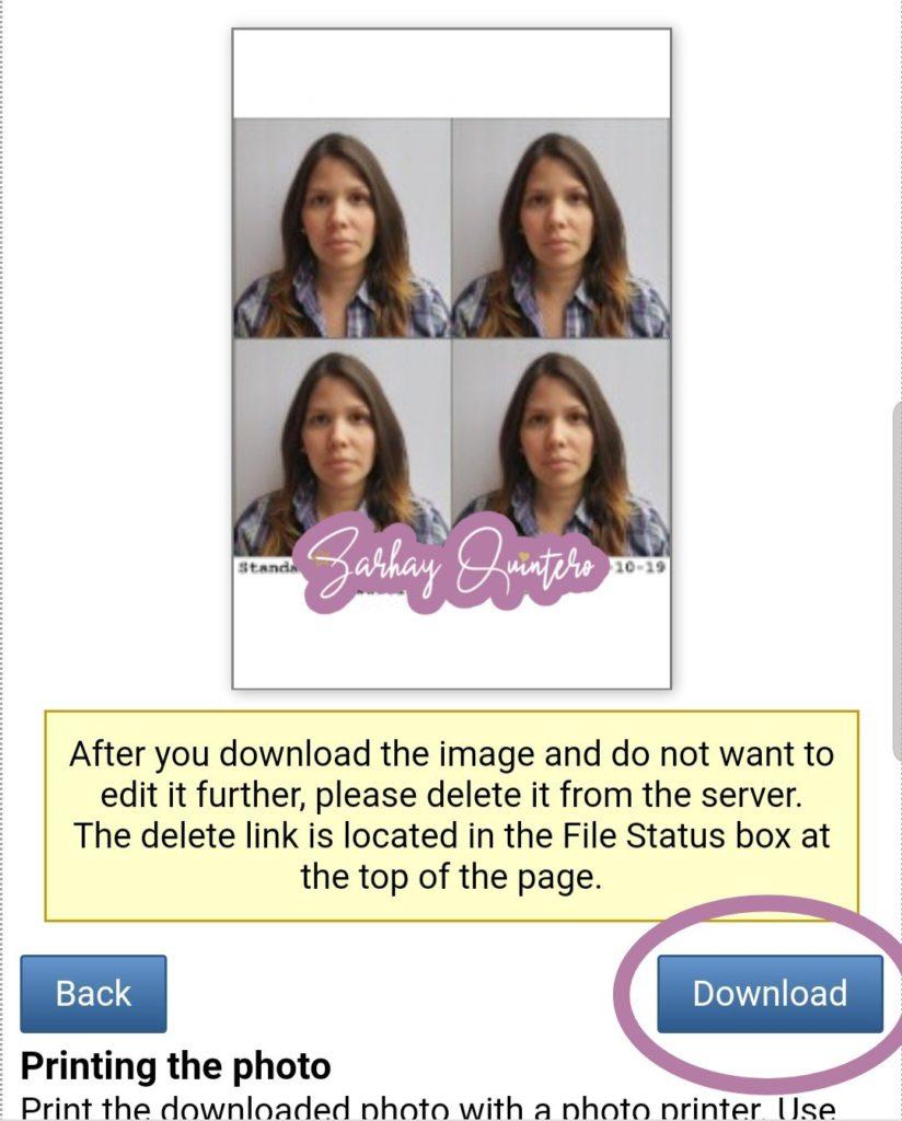 tomar fotos tipo pasaporte con el celular